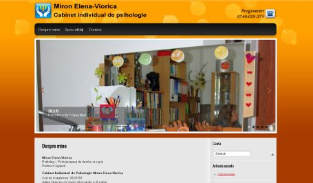 Cabinet psiholog Miron Elena Viorica