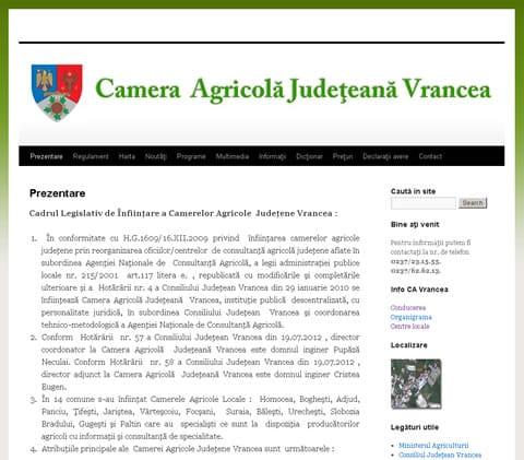 Camera Agricola Judeteana Vrancea