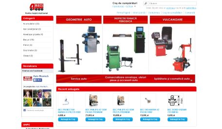 Servicemarsat – magazin piese auto (in lucru)