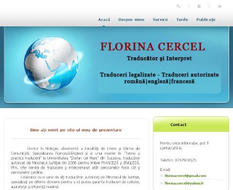 Traducator Florina Cercel