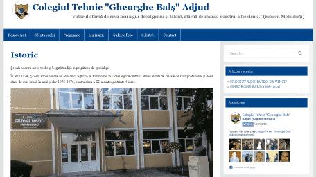 Colegiul tehnic Gheorghe Bals Adjud