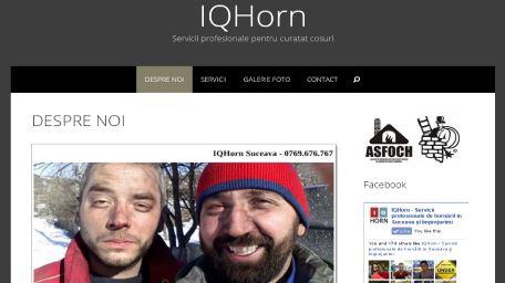 IQHorn – servicii profesionale pentru curatat cosuri