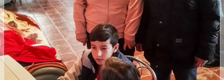 Donatie calculator Luca si Andra din comuna Gologanu