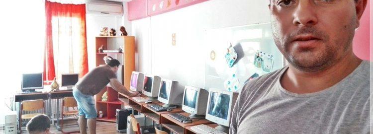 Donatie 8 calculatoare  – Centrul pentru preventia abandonului scolar Focsani