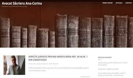 Avocat Sacrieru Ana Corina