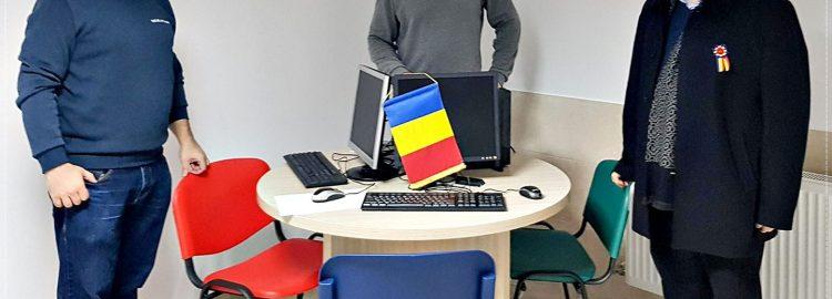"""Donație calculatoare pentru Asociația """"Sfântul Stelian – Ocrotitorul Copiilor"""""""