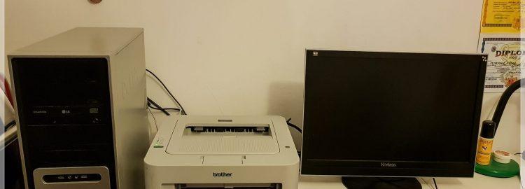 Donație calculator și imprimantă în Focșani