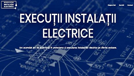 Execuții instalații electrice