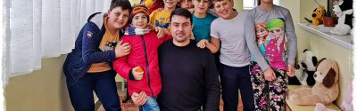 Donație 6 laptop-uri pentru aşezământul de copii Sf. Ierarh Leontie Rădăuţi