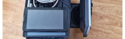 Donație 2 calculatoare, 2 tablete și o imprimantă în Slobozia Ciorăști Vrancea